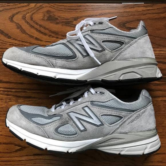 sale retailer 743fb 6e6b9 👟New Balance 990v4 Men's Running Shoes 10.5 WIDE